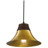 Kamiko 1 Light 10 inch Aged Brass Pendant Ceiling Light