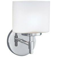 Mederne 1 Light 5 inch Chrome Wall Sconce Wall Light