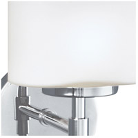 Norwell 5322-CH-MO Mederne 2 Light 14 inch Chrome Wall Sconce Wall Light