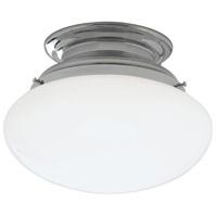 Norwell 5370-CH-SO Clayton 1 Light 12 inch Chrome Indoor Flushmount Ceiling Light