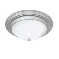 Norwell 5374-PN-SO Emily 2 Light 15 inch Polished Nickel Flush Mount Ceiling Light