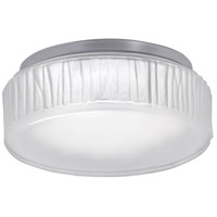 Norwell 5377-PN-FR Bark LED 7 inch Polished Nickel Flush Mount Ceiling Light