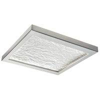 Norwell 5391-BN-WR For-Square LED 12 inch Brushed Nickel Flush Mount/Wall Mount Ceiling Light