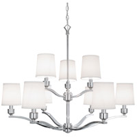 Norwell 5619-PN-WS Roule 9 Light 35 inch Polished Nickel Chandelier Ceiling Light
