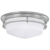 Galley 2 Light 12 inch Brushed Nickel Flush Mount Ceiling Light