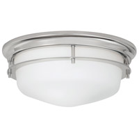 Galley 2 Light 12 inch Polished Nickel Flush Mount Ceiling Light