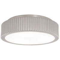 Roseau 3 Light 13 inch Brushed Nickel Flush Mount Ceiling Light, Small
