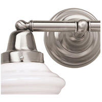 Norwell 8201-BN-AC Bradford 1 Light 7 inch Brushed Nickel Wall Sconce Wall Light