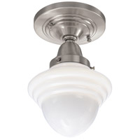 Norwell 8201F-BN-AC Bradford 1 Light 7 inch Brushed Nickel Indoor Flushmount Ceiling Light