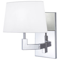 Grace 1 Light 11 inch Polished Nickel Wall Sconce Wall Light