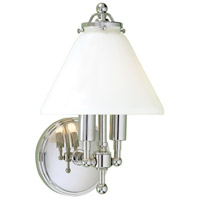 Lenox 2 Light 8 inch Polished Nickel Sconce Wall Light