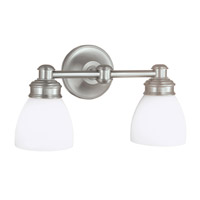 Norwell 8792-BN-OP Spencer 2 Light 5 inch Brushed Nickel Wall Sconce Wall Light