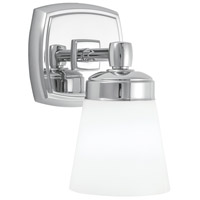 Soft Square 1 Light 5 inch Chrome Sconce Wall Light