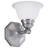 Norwell 8941-BN-FR Kathryn 1 Light 7 inch Brushed Nickel Wall Sconce Wall Light