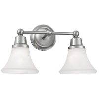 Norwell 8952-BN-FL Elizabeth 2 Light 17 inch Brushed Nickel Sconce Wall Light