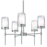 Kimberly 5 Light 27 inch Brushed Nickel Pendant Ceiling Light