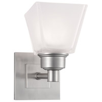Norwell 9635-BN-SQ Matthew 1 Light 5 inch Brushed Nickel Sconce Wall Light