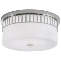 Norwell 9653-PN-SO Astor LED 14 inch Polished Nickel Indoor Flushmount Ceiling Light