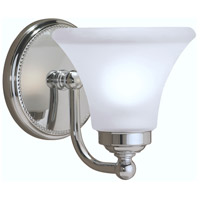 Soleil 1 Light 7 inch Chrome Sconce Wall Light