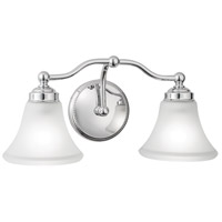 Norwell 9662-CH-FL Soleil 2 Light 18 inch Chrome Sconce Wall Light