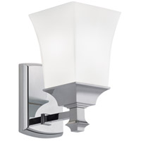 Sapphire 1 Light 4 inch Chrome Sconce Wall Light