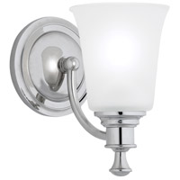 Sienna 1 Light 6 inch Chrome Sconce Wall Light