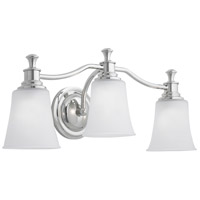 Sienna 3 Light 24 inch Chrome Sconce Wall Light