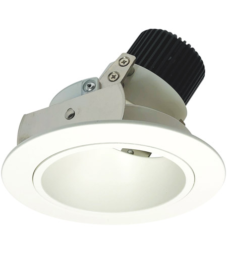 Nora Lighting NIO-4RD40XMPW Iolite LED Dedicated Matte Powder White Recessed Trim photo thumbnail