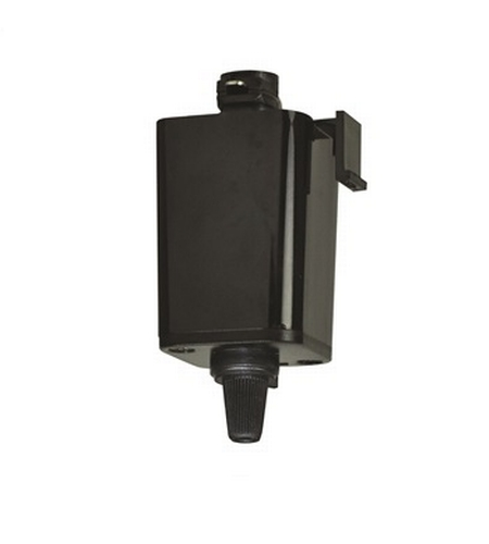 1 Circuit Black Pendant To Track Adapter Ceiling Light