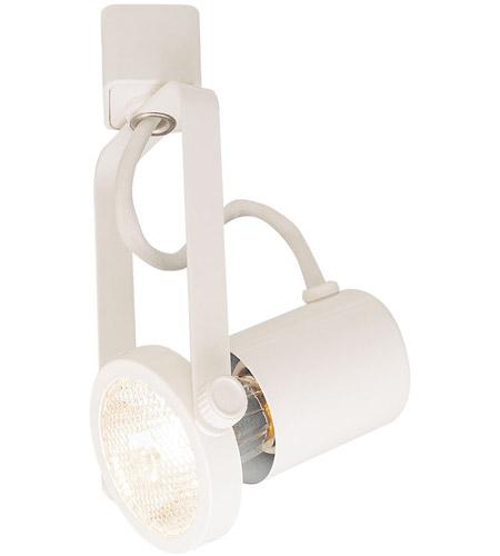 Nora Lighting NTH-112W/J Signature 1 Light 120V White Track Gimbal Ceiling  Light