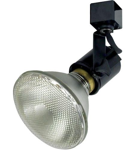 Truly Universal 1 Light 120v Black Track Lamp Holder Ceiling