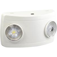 Nora Lighting NE-602LEDW Aaliyah 1 Light White Exit / Emergency Ceiling Light