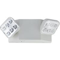 Nora Lighting NE-700LEDRCW Aaliyah 1 Light White Exit / Emergency Ceiling Light