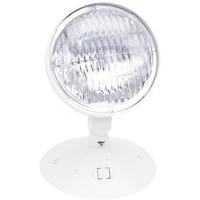 Nora Lighting NE-831 Aaliyah 1 Light White Exit / Emergency Ceiling Light