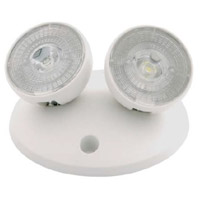 Nora Lighting NE-864LEDW Aaliyah 1 Light White Exit / Emergency Ceiling Light