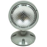 Nora Lighting NE-931 Aaliyah 1 Light Grey Exit / Emergency Ceiling Light