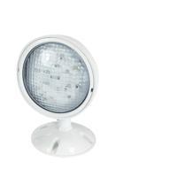 Nora Lighting NE-981 Aaliyah 1 Light White Exit / Emergency Ceiling Light