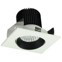 Nora Lighting NIO-2SCBW Iolite LED Dedicated Black and White Recessed Trim