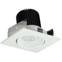 Nora Lighting NIO-2SCMPW Iolite LED Dedicated Matte Powder White Recessed Trim