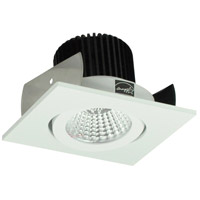 Nora Lighting NIO-2SGMPW Iolite LED Dedicated Matte Powder White Recessed Trim