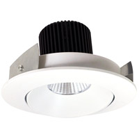 Nora Lighting NIO-4RCMPW Iolite LED Dedicated Matte Powder White Recessed Trim