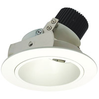Nora Lighting NIO-4RD27XMPW Iolite LED Dedicated Matte Powder White Recessed Trim