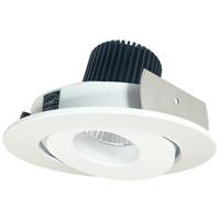 Nora Lighting NIO-4RG27XMPW Iolite LED Dedicated Matte Powder White Recessed Trim