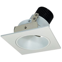 Nora Lighting NIO-4SDMPW Iolite LED Dedicated Matte Powder White Recessed Trim