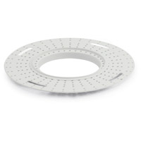 Nora Lighting NIO-FMMR-2R Iolite White Flush Mount Mud Ring photo thumbnail