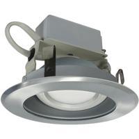 Nora Lighting NLCBC-46927XHZN Cobalt Haze and Natural Metal Recessed
