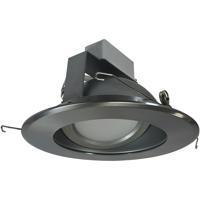 Nora Lighting NLCBC-66940XHZN Cobalt Haze and Natural Metal Recessed