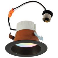 Nora Lighting NLPR-441RGBW/BZBZ Prism Bronze Recessed Downlight
