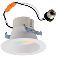 Nora Lighting NLPR-441RGBW/WW Prism White Recessed Downlight