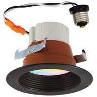 Nora Lighting NLPR-442RGBW/BZBZ Prism Bronze Recessed Downlight